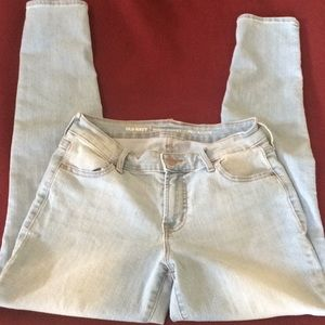 Super Skinny Old Navy Mid-Rise Jeans Sz 4 Like New